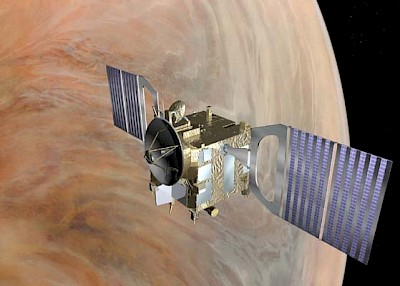 Venus Express im Orbit
