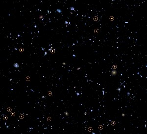 ALMA erforscht das Hubble Ultra Deep Field