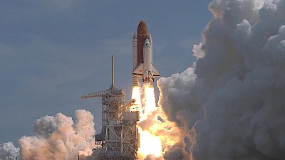 Start des Space Shuttle Columbia zur D2-Mission