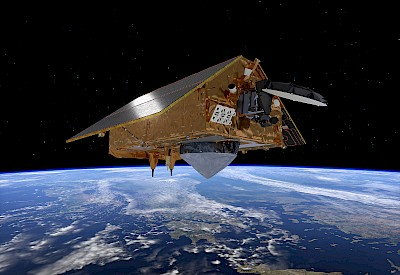 Sentinel-6-Satellit im Orbit